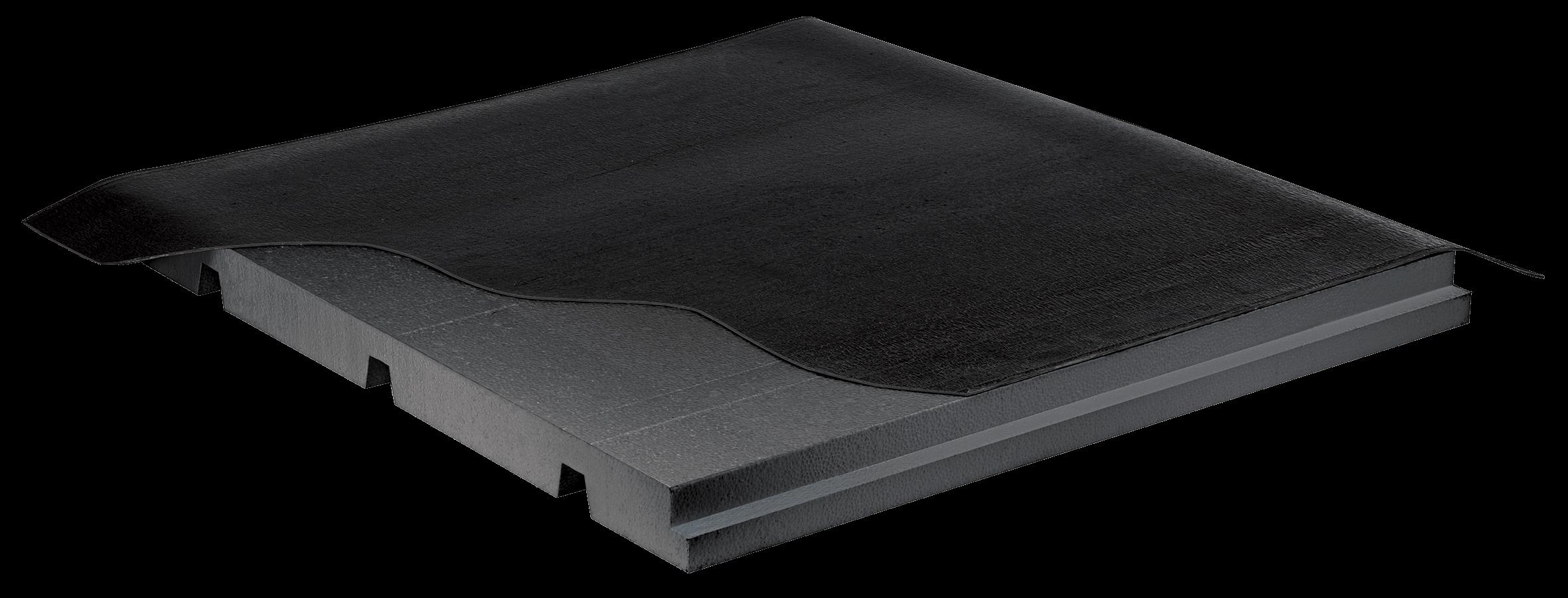 impermeabizzazione e isolamento in sovracopertura di tetto in lamiera grecata nuova fopan