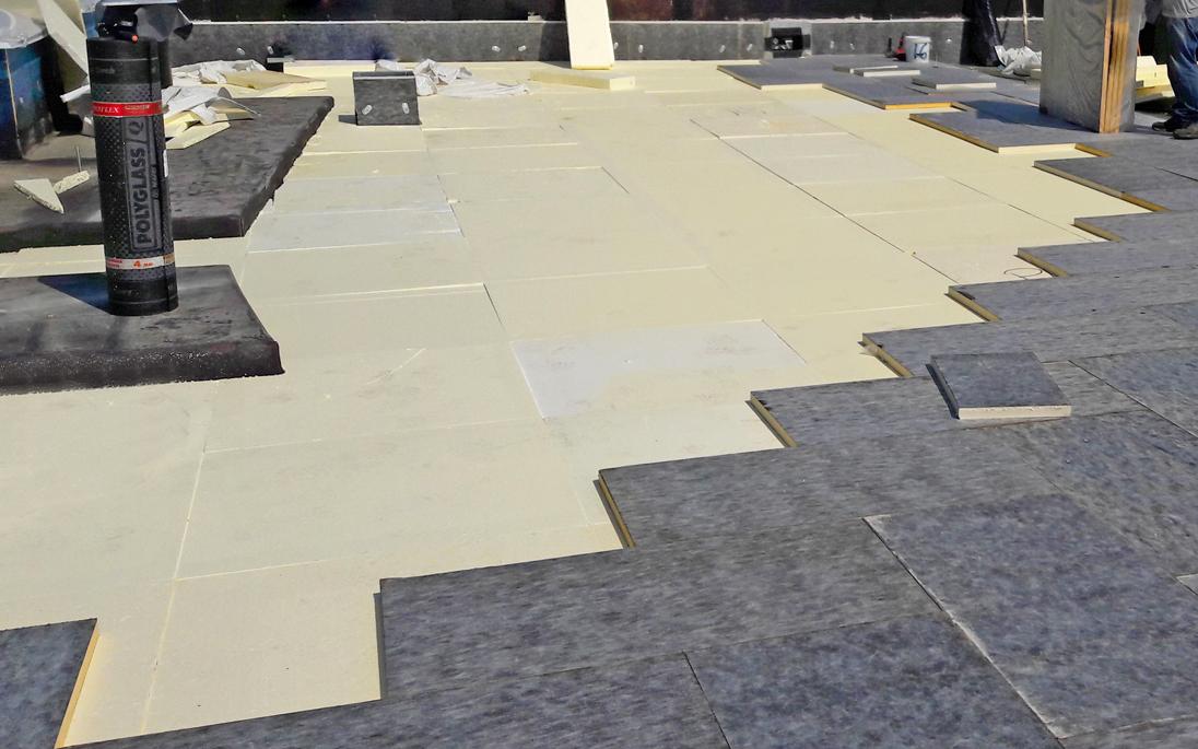 Coibentazione tetto con isolamento termico sottile