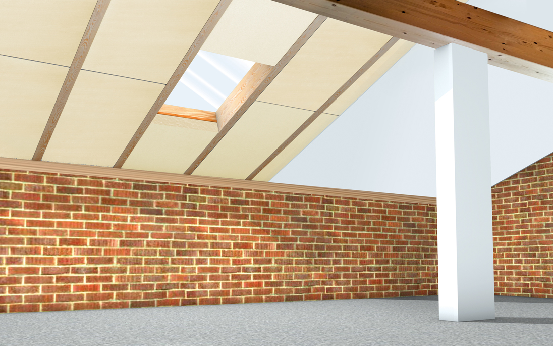 Isolamento sottotetto dall interno nuova fopan tetti - Isolamento interno ...