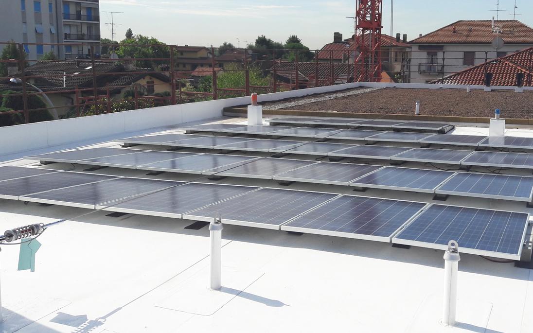 Pannello Solare Tetto Korea : Isolamento tetto con fotovoltaico o pannello solare