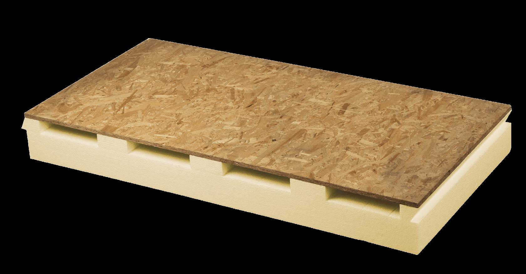 pannelli coibentati per tetto ventilato in polistirene con osb Aero Styr OSB nuova fopan