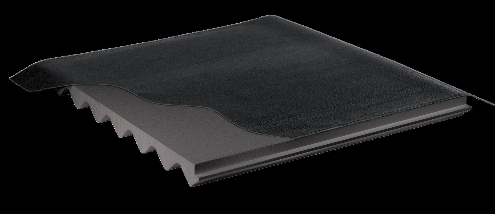 Bonifica amianto eternit con sovracopertura di pannelli isolanti per lastre ondulate nuova fopan