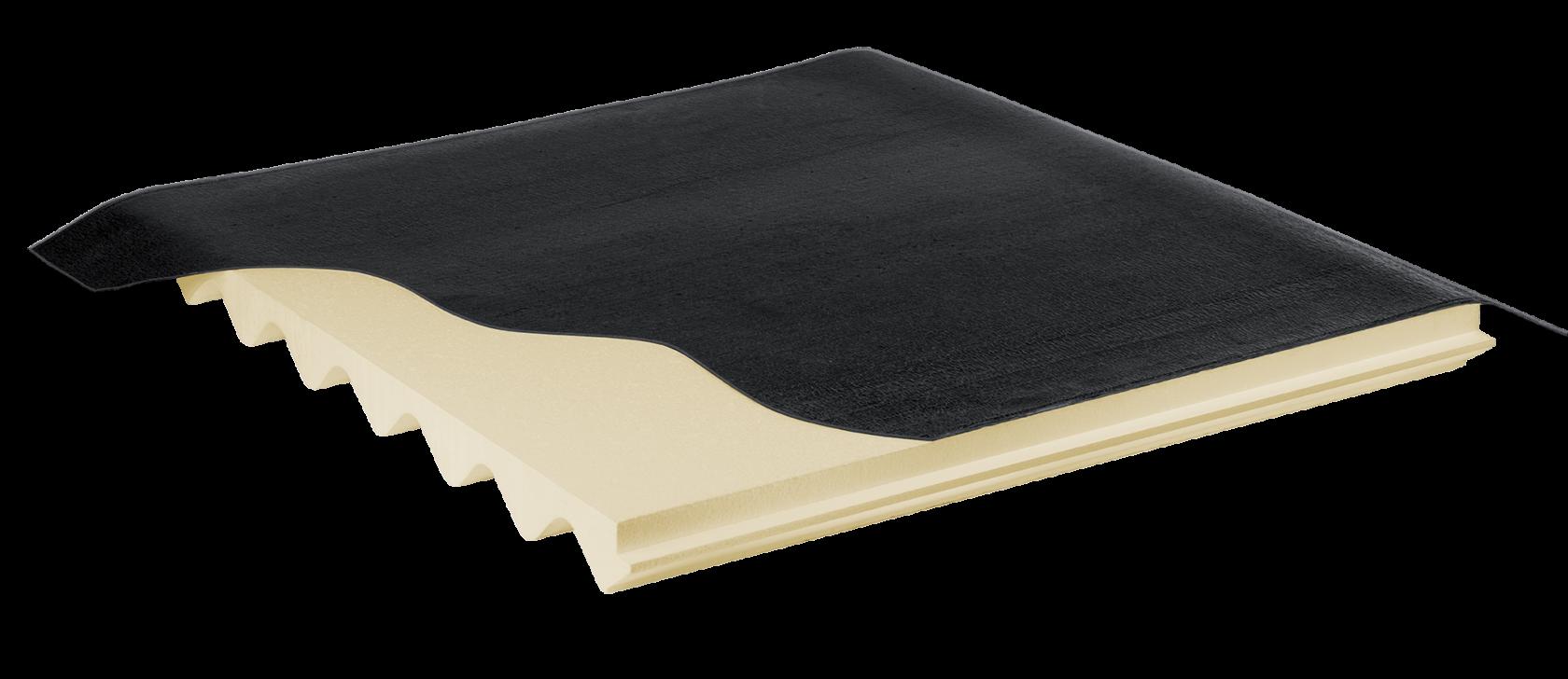 Confinamento amianto eternit e pannelli in fibrocemento con pannello isolante con guaina nuova fopan